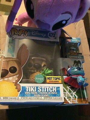 Funko POP Disney Lilo And Stitch Mystery Box Hot Topic Exclusive new sealed