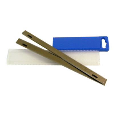 260 x 18 x 3mm Slotted HSS Resharpenable Planer Blades 1 Pair S706S1