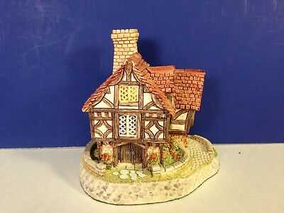 David Winter Cottages THE HALL w/ COA No box Combine Shipping !