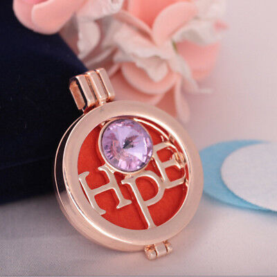 Exquisite Pendant Necklace Perfume Locket Aroma Hollow Sweater Chain Shan