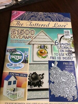 Tattered Lace Magazine - Issue No. 25 - with die D1036 no papers