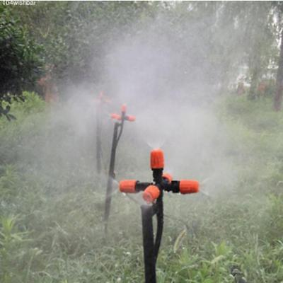 5Head Adjustable Garden Spray Nozzle Greenhouse Fr Automatic Sprinkler Adapter A