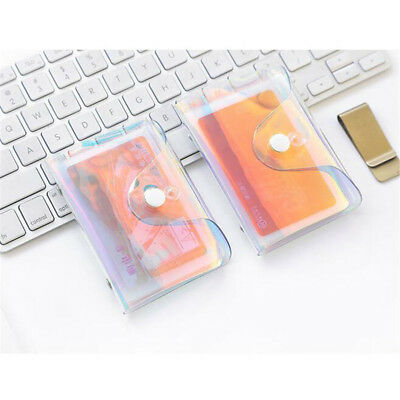 Hologram Bag Women Ladies Charming Laser Holographic Coin Card Holder Bag Shan