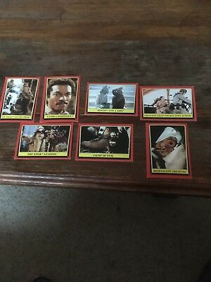 7 return of the jedi cards.
