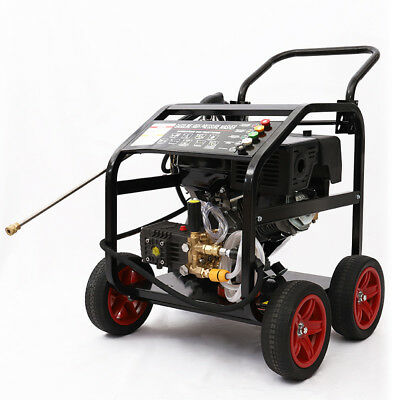 Pro Heavy Duty 331 BAR 4800PSI Petrol Driven Pressure Power Jet Washer Cleaner