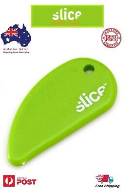 2 Slice Green Safety Cutter, Ceramic Blade, Safe and easy Packaging Opener.