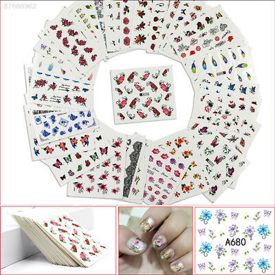 741F Nail Patch Multi-Type Nail Art Smalti-Stickers Decor Foils Decals Adhesive