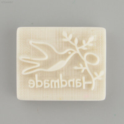 12EE Pigeon Desing Handmade Yellow Resin Soap Stamping Mold Craft Gift New