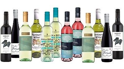 Red Wine & White Wine Mixed - 12x750ml Pack Fast Delivery & Free Shipping