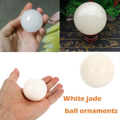 BAC7 2019 Round White Sphere Home Decoration Fitness Balls Baoding Balls
