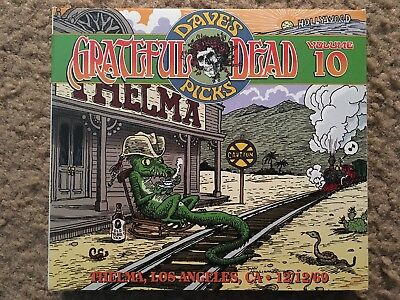 Grateful Dead Dave's Picks Volume 10: Los Angeles, CA 12/12/69 3-CD Awesome!