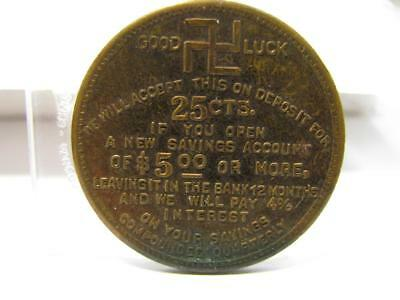 Greenville Sc Bank Merchant Good Luck Advertising Trade  Token