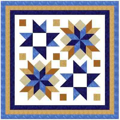 """DOOHICKEY - 52"""" x 52"""" - Quilt-Addicts Precut Quilt Kit Lap size"""