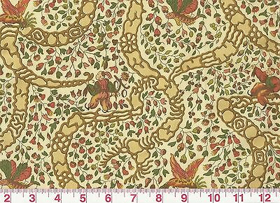 Asian Inspired W Fish Print Drapery Fabric By Vervain Peking Cl