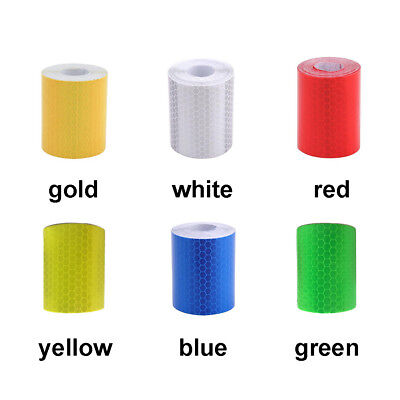 5cm*1m Car Truck Reflective Safety Warning Roll Tape Strip Film Sticker Decal