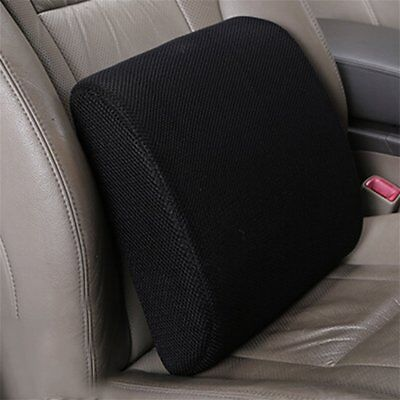 Lumbar Cushion Back Support Travel Pillow Memory Foam Car Seat Home Office