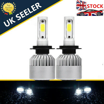 Bright H7 Canbus Error Free White Led Kit 6500K Mot Legal Accurate Beam Pattern