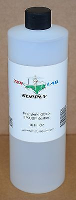 Tex Lab Supply Propylène Glycol ( Pg ) Nf-Fcc/Ep-Usp 16 Fl. Oz