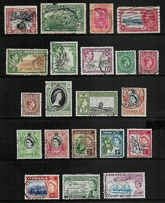 JAMAICA mixed collection No.13, 1900-1960, used
