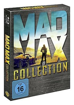 MAD MAX 1-3 + MAD MAX: FURY ROAD, COLLECTION (4 Blu-ray Discs) NEU+OVP