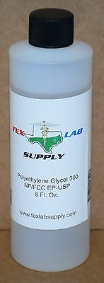 Tex Lab Supply Polyéthylène Glycol 300 (Crochet 300) Nf / FCC / Ep / Usp 8 Fl.
