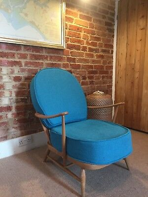 GENUINE VINTAGE '60s ERCOL 301 EASY CHAIR
