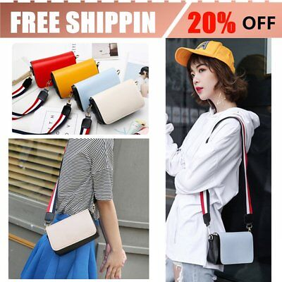Wide Shoulder Strap PU Leather Shoulder Bag Women Messenger Bags Patchwork Bag O