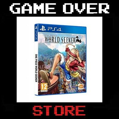 ONE PIECE WORLD SEEKER Playstation 4 PS4 Nuovo Italia
