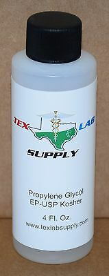 Tex Lab Supply Propylène Glycol ( Pg ) Nf-Fcc / Ep-Usp 4 Fl. Oz