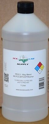 Tex Lab Supply Polyéthylène Glycol (Crochet) 3 - Way Mélange Nf-Fcc/Ep-Usp 1