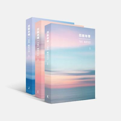BTS 花樣年華 THE NOTES 1 3SET Ver Book+Special Note Book+Tracking #