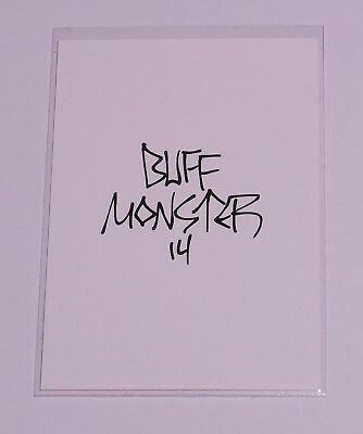 Melty Misfits Series 2 Buff Monster Autograph Card 51b