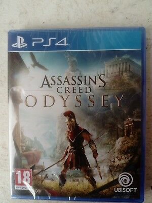 Assassin's Creed Odyssey Ps4 / Neuf, Sous Blister, Version Française /