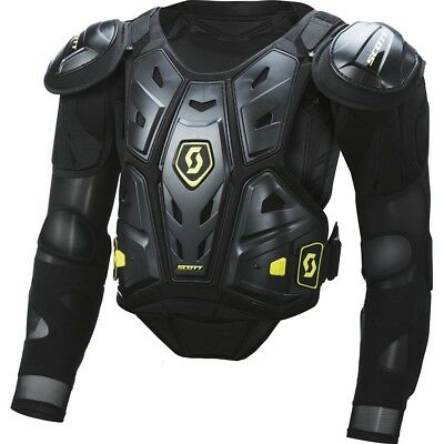 Pettorina Moto Cross Enduro Scott Commander 2 Blk Jacket Protector Body Armour S
