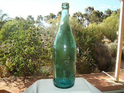 Antique  Bottle Perth Glass Works c/s