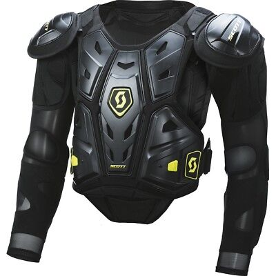 Pettorina Moto Cross Enduro Scott Commander 2 Blk Jacket Protector Body Armour L