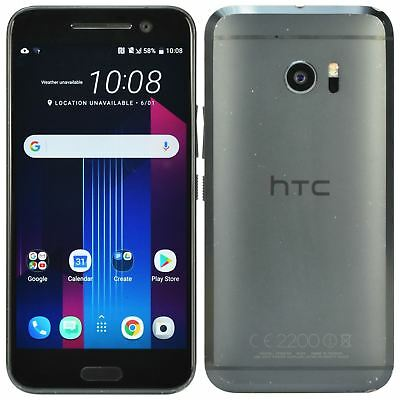 """HTC 10 M10 5.5"""" 32GB Unlocked 12MP Android Smartphone Carbon Grey"""