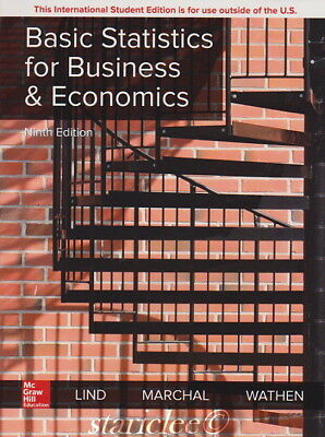 NEW Basic Statistics for Business and Economics 9E by Lind 9th Paperback Edition
