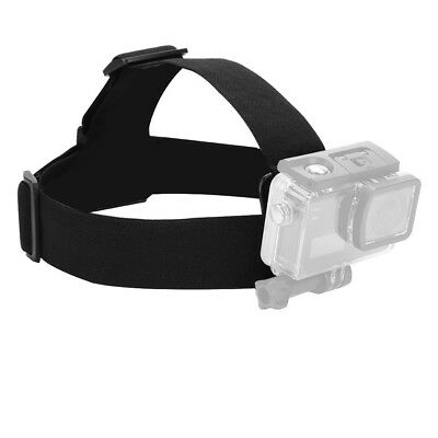 Head Strap Mount Belt Elastic Headband For GoPro GO PRO HD Hero 4/3+/3/2/ Camera