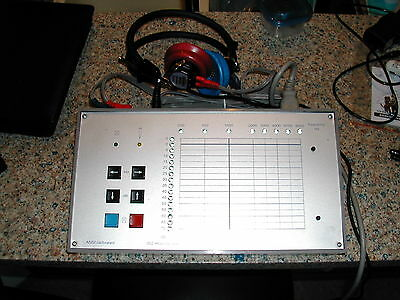 AT 2501 Test Equipment Meter -10 to 70DB  250 to 8KHZ Pulsed ,+20DB