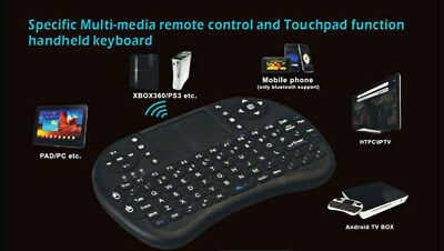 Mini KP-810-21 2.4GHz Wireless Kabellos Handheld 92 Keys Keyboard Touchpad Maus