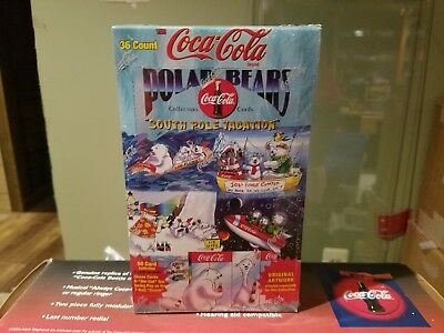 Coca Cola Polar Bear Collectible Cards
