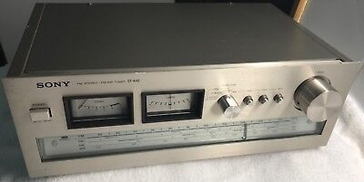 Vintage Sony Am/fm Sw1 Sw2 Stereo Tuner #st-A4S. *rare Multiband Tuner!