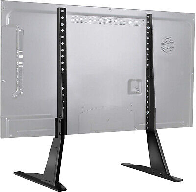 Universal TV Stand Table Top Base 37 - 70 Inch Flat Lcd Led Screen Adjustable