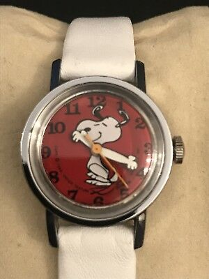Vintage Snoopy Watch 1970's