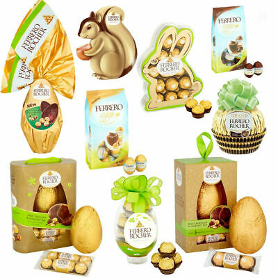 Ferrero Rocher Egg Easter Collection Bunny Milk Chocolate Hazelnut Gifts Pack