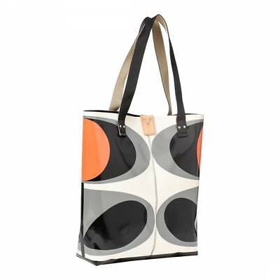 Orla Kiely Granite Flower Oval Willow Tote