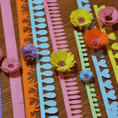 Flower Art Quilling Paper 18 Strips Mixed Colors Origami DIY Paper Hand Craft G1