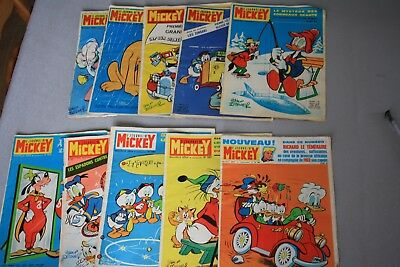 lot de magazine mickey n° 4