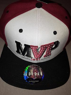 699c6ce4dfd Nike Air Jordan Retro Vi 6 Mvp New Snapback Hat Black Red White Cap 686951  100